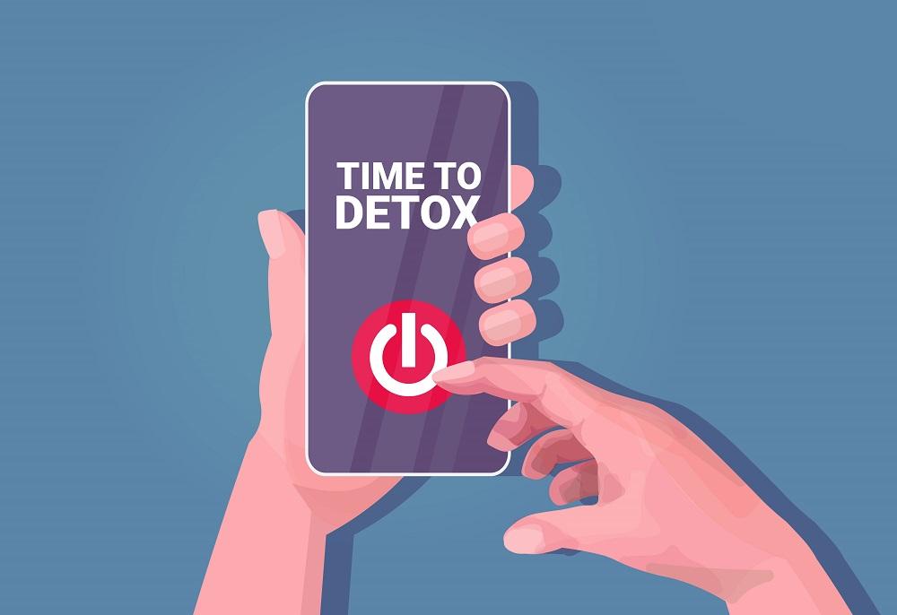 スマートフォン デジタルデトックス